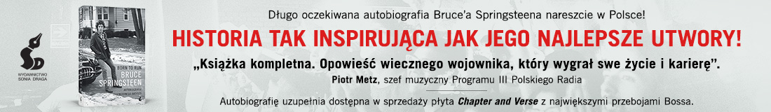 Zamów Born To Run - autobiografię Bruce'a Springsteena