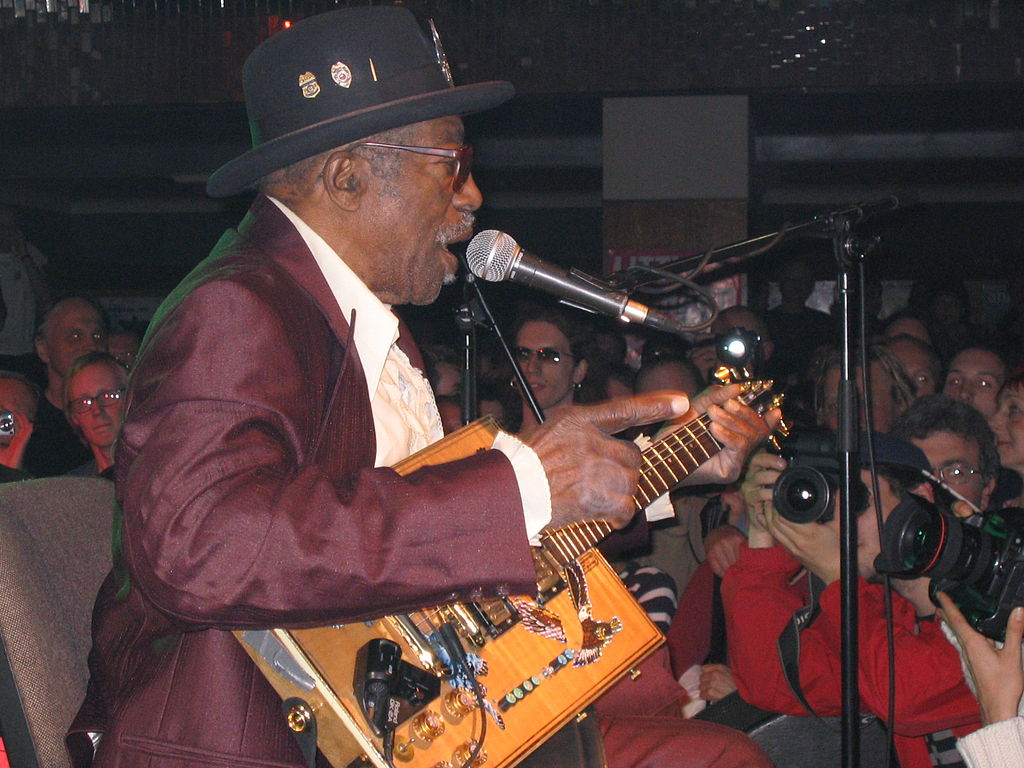 Bo Diddley (fot. Aconcagua / Wikimedia Commons)