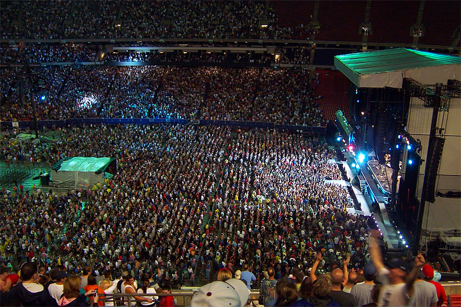 Bruce Springsteen & The E Street Band, Giants Stadium, Magic Tour - 27 lipca 2008 r. (fot. Wasted Time R/Wikimedia Commons)